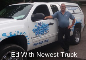 Simcoe Ontario Plumber With Truck